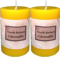 Touch Nature Double Aromatherapy Candles (Citronella)