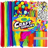 Arts & Crafts Supplies for Kids Crafts - Kids Craft Supplies & Materials - Kids Art Supplies for Kids - Arts and Crafts Kit for Kids Craft Kits - Toddler Crafts for Kids Craft Set - Carl & Kay