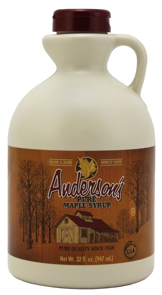 Anderson's Dark Sale price Amber Maple Syrup Regular store Grade 32 Frustratio A Ounce