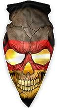 Outdoor Windproof Sports Mask Ski Mask Shield Scarf Bandana Men Woman German Flag Skull