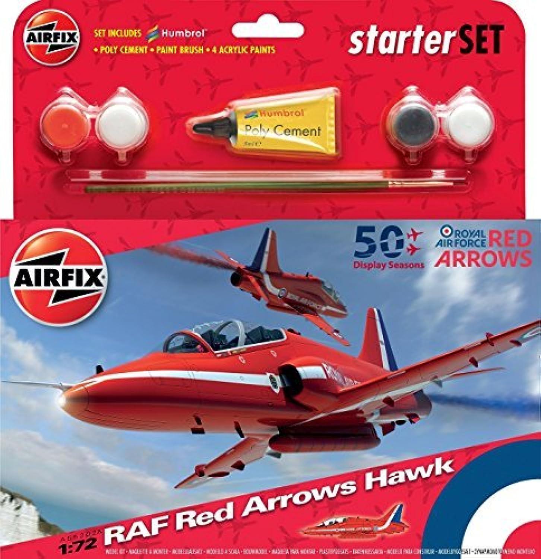 precio al por mayor Airfix 1 72 RAF rojo Arrows Hawk Hawk Hawk 50th DisJugar Season Estrellater Set () by Airfix  punto de venta barato