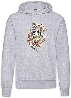 Urban Backwoods Oni Tattoo Hoodie Kapuzenpullover Sweatshirt