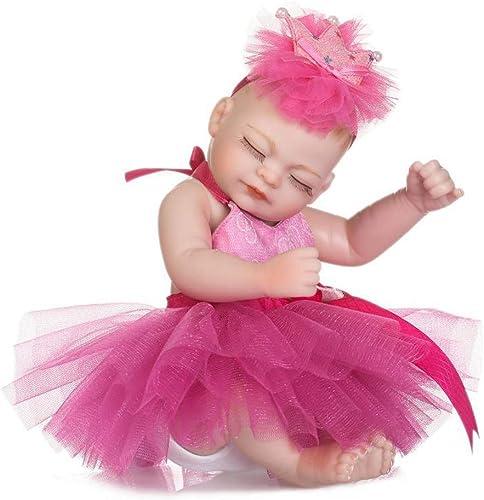 mas barato IIWOJ Mini Mini Mini Reborn bebé muñeca, Encantañora 10,63 Pulgadas de ViNiño de Silicona Suave-Realista recién Nacido Seguro no tóxico niña Regaño  precios bajos todos los dias