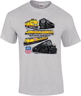 Union Pacific Collage Authentic Railroad T-Shirt