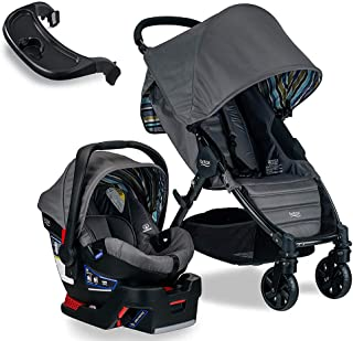 Britax Pathway & B-Safe 35 Travel System, Crew with Tray Bundle
