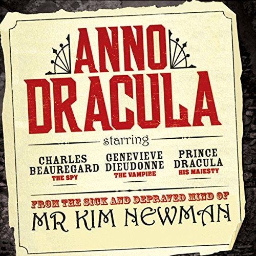 Anno Dracula audiobook cover art