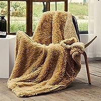 Fflmyuhul I U Luxury Super Soft Microplush Velvet Blanket