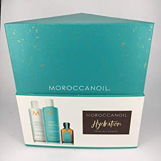 Moroccanoil Hydration Christmas Gift Set Shampoo, Conditioner and Oil