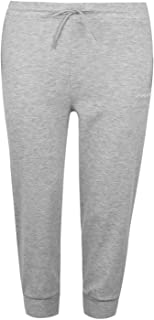 LA Gear Womens Ladies Three Quarter Interlock Pants Trousers Bottoms Clothing Grey Marl1 20 (XXXL)
