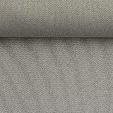 Swafing Taschenstoff ROM, Silbergrau, Öko-Tex 50x140 cm