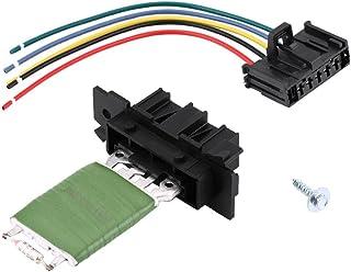 Regulador del ventilador del resistor del motor, juego completo del resistor del ventilador del motor con cableado del arnés de la reparación del cableado