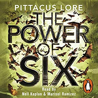 The Power of Six     Lorien Legacies, Book 2              By:                                                                                                                                 Pittacus Lore                               Narrated by:                                                                                                                                 Neil Kaplan,                                                                                        Marisol Ramirez                      Length: 10 hrs and 46 mins     314 ratings     Overall 4.4