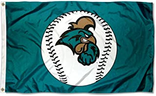 College Flags and Banners Co. Coastal Carolina Chanticleers Baseball Logo Flag