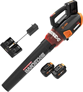 WORX WG584.1 40V 4.0Ah Lithium WORXAIR Turbine Brushless Blower Battery and Charger Included