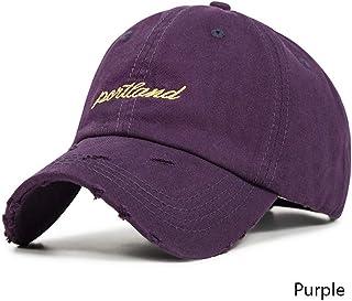 MKJNBH Simple Embroidery Letter Unisex Adjustable Casual Baseball Cap Cozy Men Women Summer Spring Hats