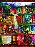 SUNSOUT INC Treasure Hunt Bookshelf 1000 pc Jigsaw Puzzle