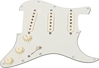 Fender Strat Loaded Pickguard Vintage Noiseless Parchment/Aged White