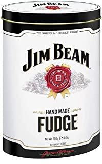 Gardiners of Scotland, Jim Beam Handmade Fudge Caramels Tin, 10.5 oz, Imported