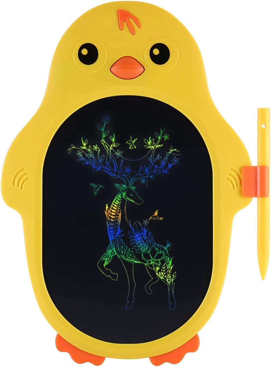 Leting LCD Writing Tablet, Color Sreen Kids LCD Writing Board,No Ink, No Dust, No Harm to Eyes, one Click Erasing, Perfect Doodle Board Doodle Pad ,and Wildly Stimulate Kids Creativity.