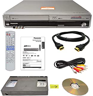 Panasonic VHS to DVD Recorder VCR Combo w/ Remote, HDMI (Renewed)