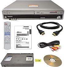 Panasonic VHS to DVD Recorder VCR Combo w/ Remote, HDMI (Renewed)