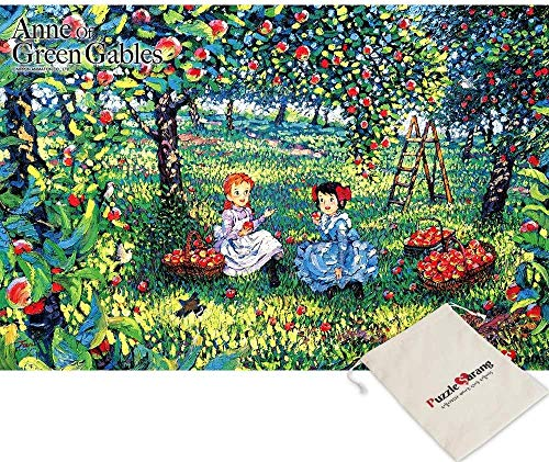 [Including pouch] Anne-Lucy Maud Montgomery of Green Gable Orchard-108 mini puzzles