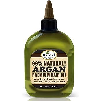 Difeel Premium Natural Hair Oil - Argan Oil 7.78 ounce