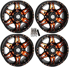 STI HD7 UTV Wheels/Rims Orange/Black 14