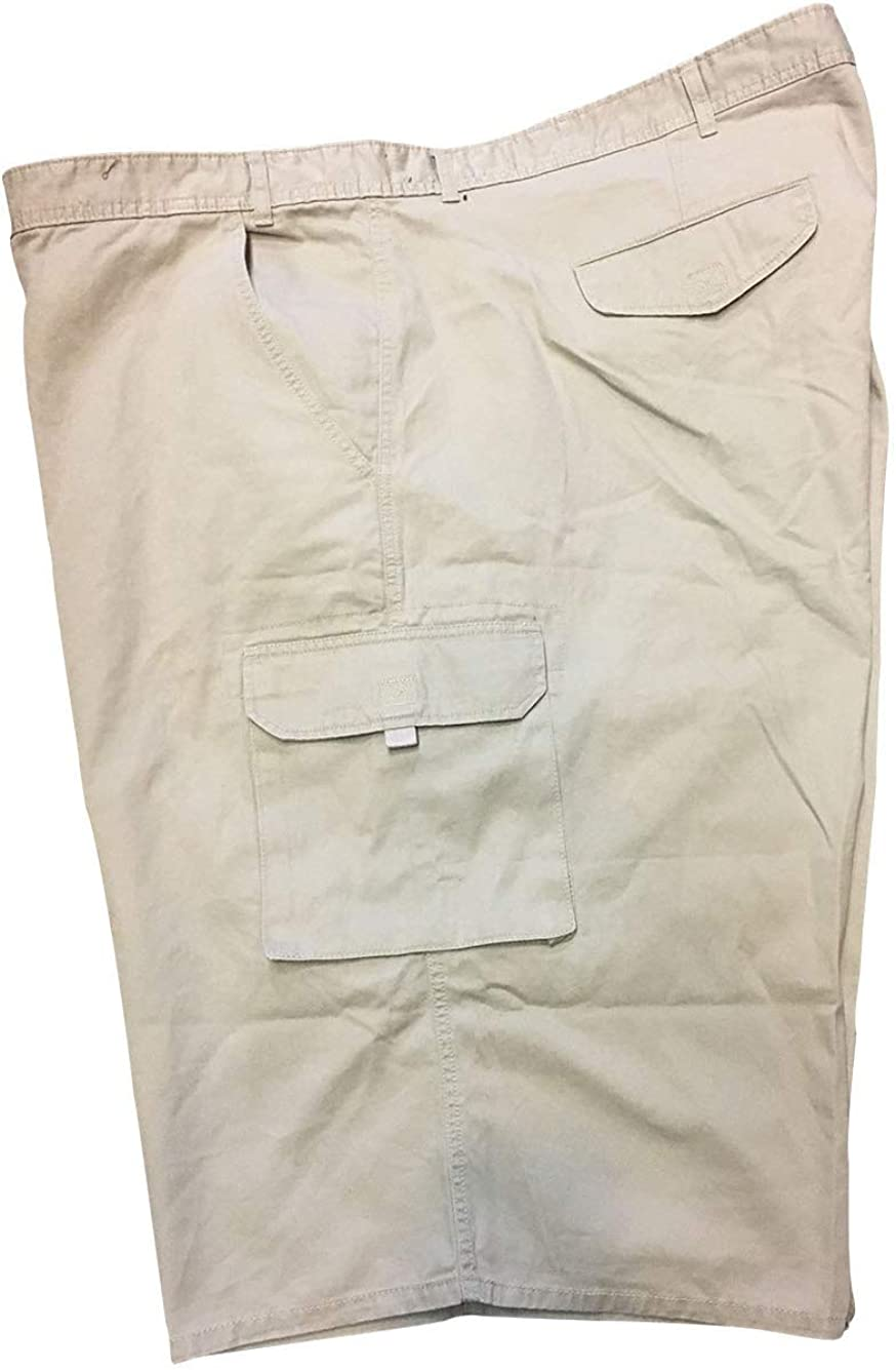 Copper Canyon Size 64 and 68 Extra Big Soft Wash Tan Cargo Shorts