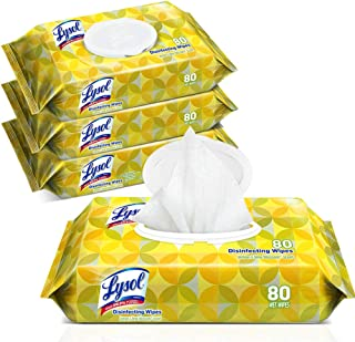 antiseptic wipes by Lysol