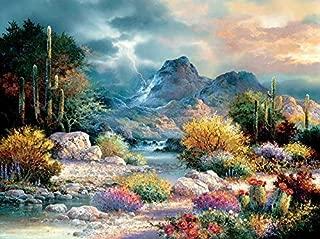 SUNSOUT INC Springtime Valley 1000 pc Jigsaw Puzzle