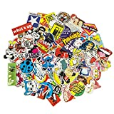 100 Aufkleber/Sticker - Retro-, Graffiti- Style, Reisen,
