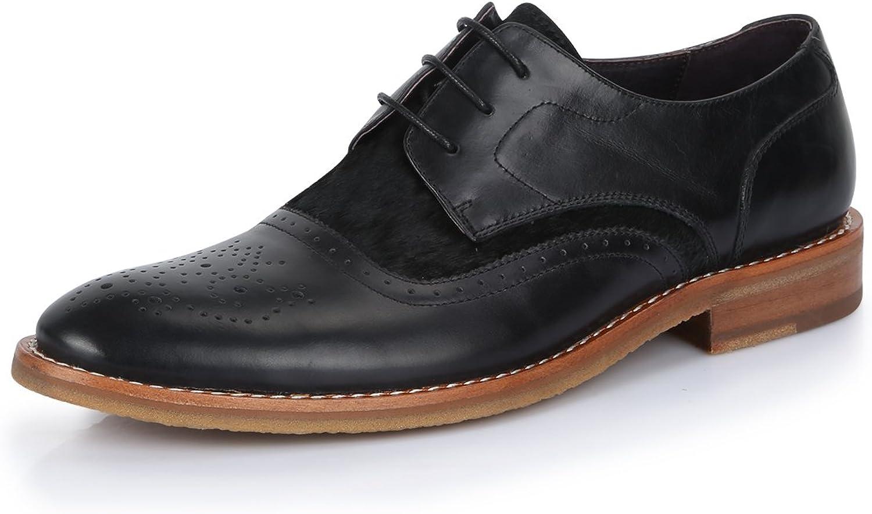 Gaofu yinxiang Herren Vintage british Formale Casual Leder Schuhe