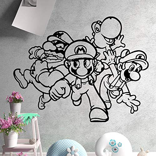 Tianpengyuanshuai leuke muurstickers Cartoon familie decoratie accessoires kleuterschool kinderkamer decoratie wanddecoratie kunst decoratie