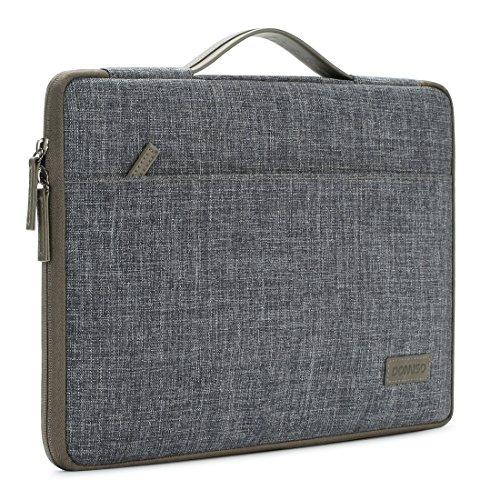 DOMISO 10 pulgada Funda para portátil con tableta de con asa Bolsa de transporte para de 9.7'10.5'11'iPad Pro/10.5'iPad...