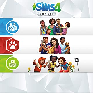 The Sims 4 Bundle - Cats & Dogs + Parenthood + Toddler - PS4 [Digital Code]