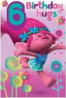 Trolls 6 Tarjeta Cumpleaños: Amazon.es: Juguetes y juegos