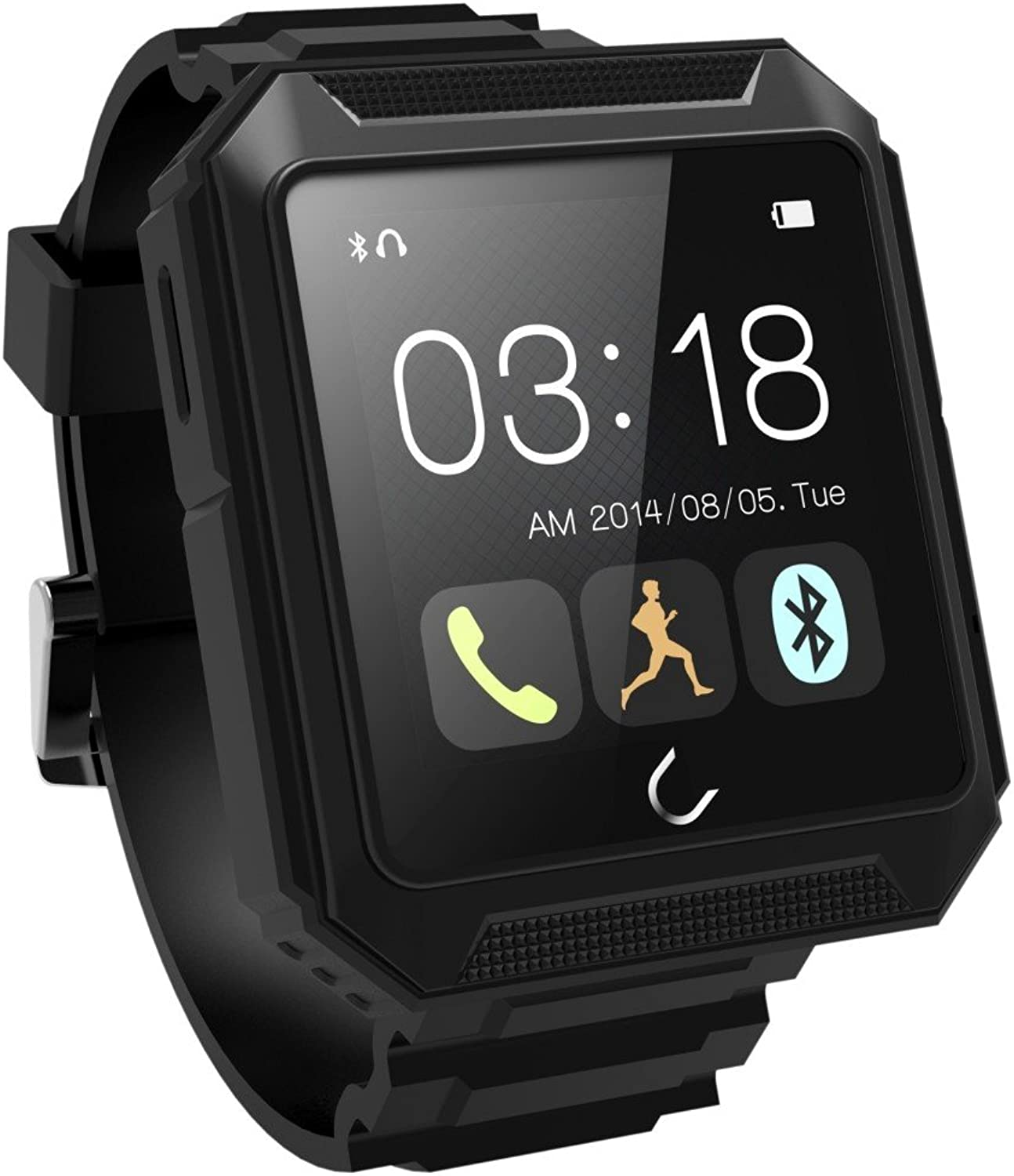 MYJ Smart Watch Drei Anti-Outdoor-Sportuhr Wasserdichte Blautooth-Uhr