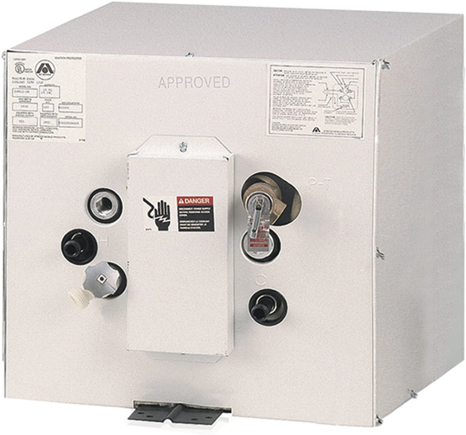 Atwood EHM11220 Electric Water Heater w Heat Exchanger  11Gal  220V (35886)