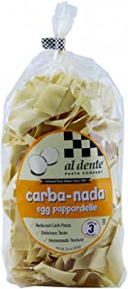 AL DENTE Carba-Nada Egg Pappardelle, 10 Ounce (Pack of 6)