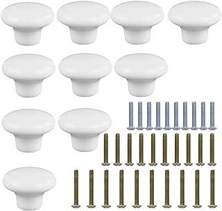Best white knobs for dresser Reviews