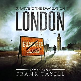 Surviving the Evacuation, Book 1: London cover art