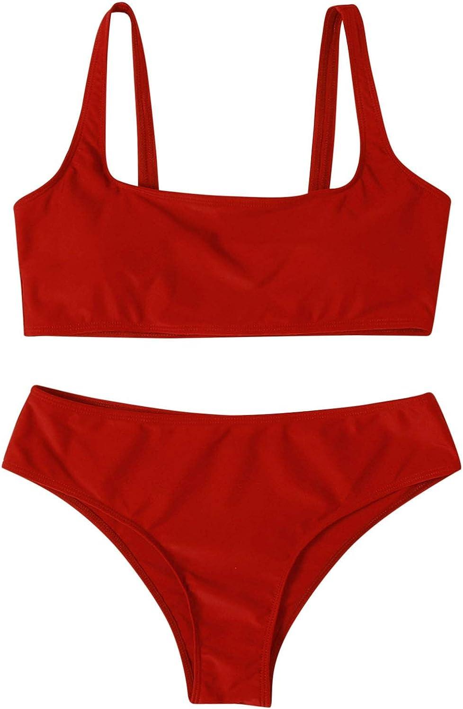 Xiloccer Swimsuits for Women Bikini Set Two Piece Swimsuit Cute Bathing Suits Summer Beach Swimwear Sexy Best Swimsuits