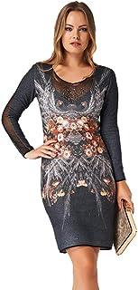 e35ab4623bdce 2219 Swarovski Taşlı Özel Tasarım Şık Abiye Gece Kışlık Elbise