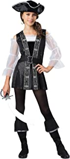 Dark Pirate Lass Tween Costume
