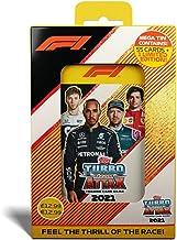 2021 Topps F1 Turbo Attax Cards - Mega Tin (56 Cards + LE Gold Sebastian Vettel)