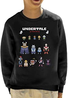 Cloud City 7 Undertale Spoilers Kid's Sweatshirt