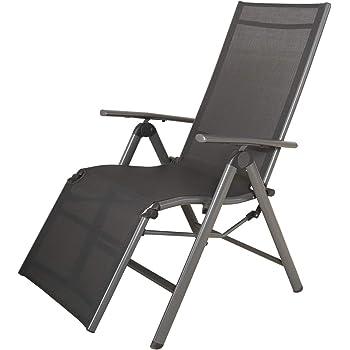 FIAM Spaghetti, Outdoor garden recliner chair, White: Amazon