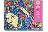Djeco 599386031 - Taller rotuladores Chicas de los cerezos