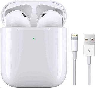 Auriculares Bluetooth Auricular Inalámbrico In-Ear Auriculares Micrófono de Reducción de Ruido Incorporado y Caja de Carga...